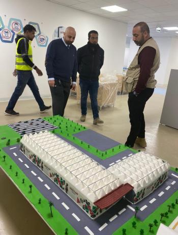 البداد كابيتال: 6 مستشفيات ميدانية في الأردن شارفت على الإنتهاء