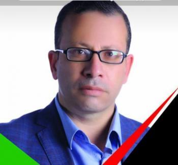 الزميل أبو صبيح يحتج على الغد من نقابة الصحفيين