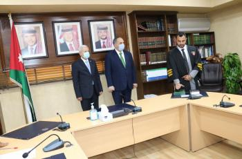 55 محاميا يؤدون اليمين القانونية أمام وزير العدل