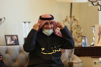 لقاء دبلوماسي واعلامي رفيع بمنزل السفير الكويتي في عمان