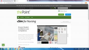 تمريض فيلادلفيا تشترك في منصة المحاكاة الافتراضية للتمريض (Vsim Nursing)