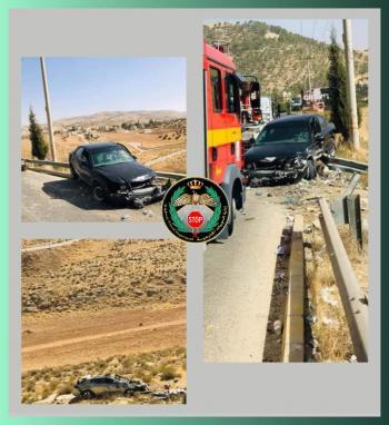 3 إصابات بحادث تصادم في سلحوب