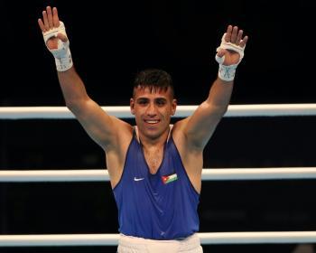 حسين عشيش يحقق فوزه الأول في أولمبياد طوكيو