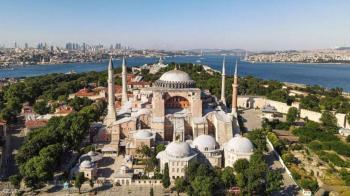 واشنطن تدعو أنقرة لعدم تحويل آيا صوفيا إلى مسجد