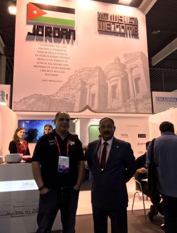 زين تشارك بأول جناح أردني في المؤتمر للاتصالات في برشلونة