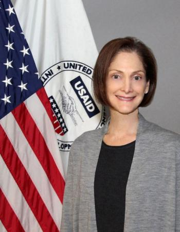 السفارة الأمريكية تستقبل مديرة بعثة الوكالة الأمريكية للتنمية الدولية