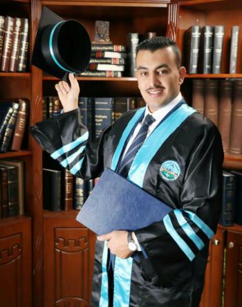 حمد صالح محمد العابد ..  مبارك التخرج