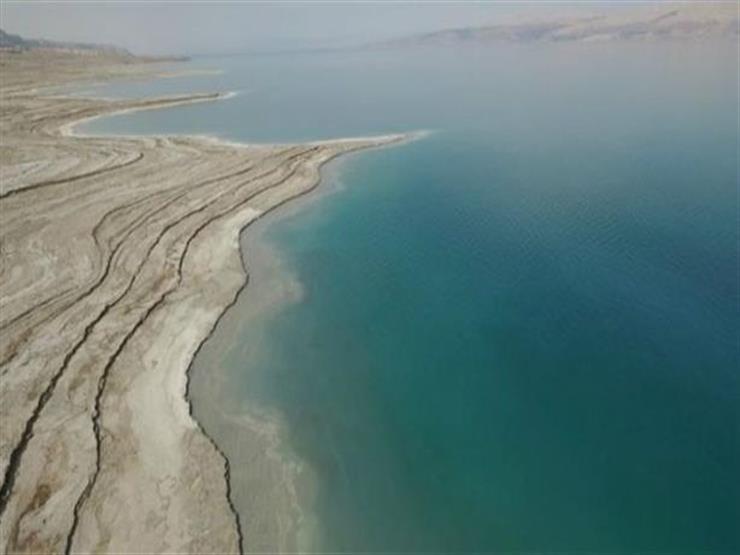 غريقان في البحر الميت من جهة الاراضي المحتلة