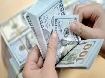 هبوط سعر صرف الدولار