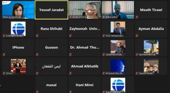 ندوة تعريفية ببرنامج فولبرايت في جامعة الزيتونة الأردنية