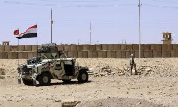 التحالف الدولي يساعد العراق على تأمين حدوده مع سوريا