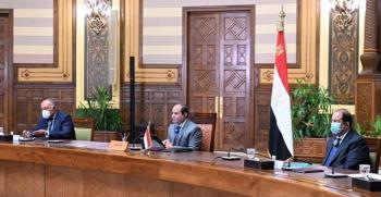 السيسي يدعو لسرعة إنهاء الفراغ الحكومي في لبنان