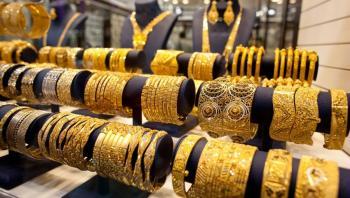 ارتفاع الذهب محليا 1.10 دينارا