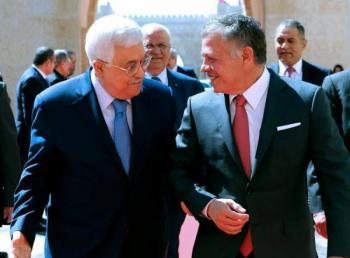 الملك يبحث مع عباس تطورات الساحة الفلسطينية