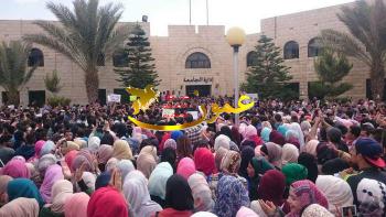 الهاشمية: اعتصام الطلبة كلفنا 200 ألف