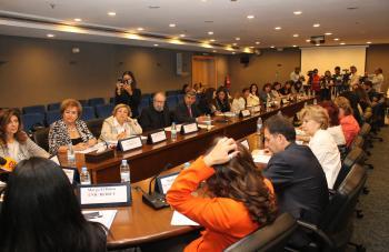 انعقاد مؤتمر عمل النساء في بيت الامم المتحدة