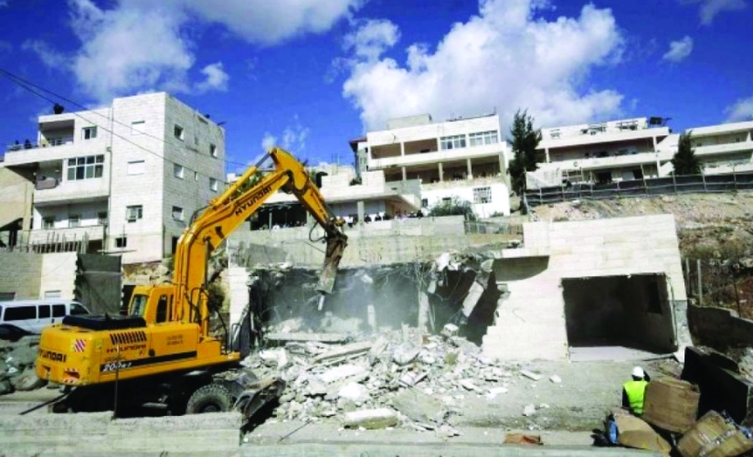 الاحتلال يهدم منزلا بالقدس