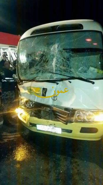 13 إصابة إثر حادث تصادم على الطريق الصحراوي