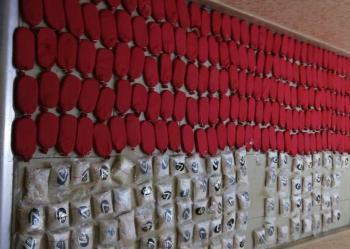 ضبط 268 كف حشيش و90 ألف حبة مخدرة داخل عبارة في المفرق