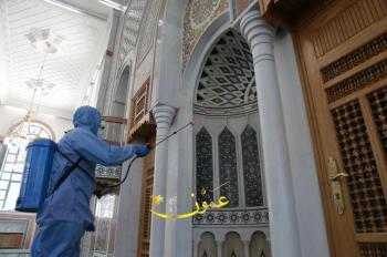 السماح بتشغيل المكيفات والمراوح في المساجد