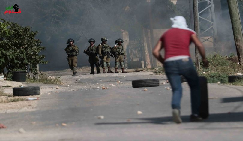 مواجهات وإصابات برصاص الاحتلال داخل اراضي الـ 48
