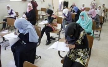 5590 طالباً وطالبة تقدموا لامتحان الشامل