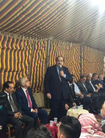 قشوع يؤكد أهمية الوحدة الوطنية في تعزيز حالة المنعة