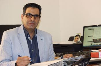د. رائد الغزاوي مبارك الترقية