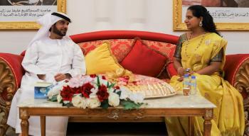 وفد من تيلانجانا الهندية يبحث التعاون مع جرين جيت الإماراتية