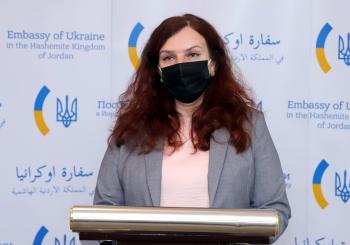 السفيرة الأوكرانية: نسعى لزيادة الرحلات المباشرة مع الأردن