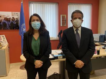 مديرة الاونروا تلتقي السفير المكسيكي لدى الاردن