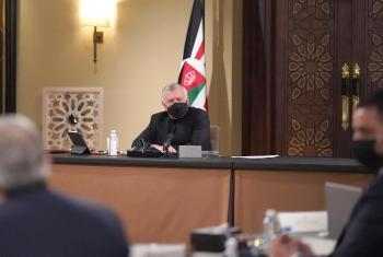 الملك يلتقي رئيس مجلس النواب ورؤساء الكتل النيابية
