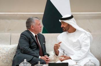 ولي عهد ابو ظبي مهنئا بمئوية الدولة الأردنية: صوت العقل والحكمة