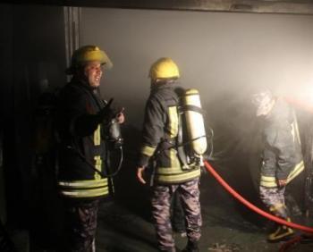 5 اصابات بحريق شقة في أبو علندا