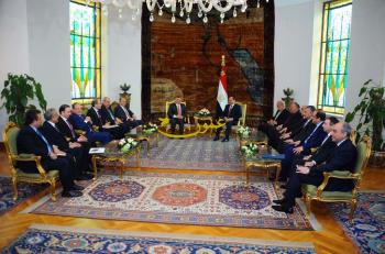 الملك والسيسي: حل الدولتين الوحيد لإنهاء الصراع في فلسطين