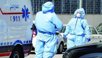 %0.11 من سكان الأردن اصيبوا بكورونا