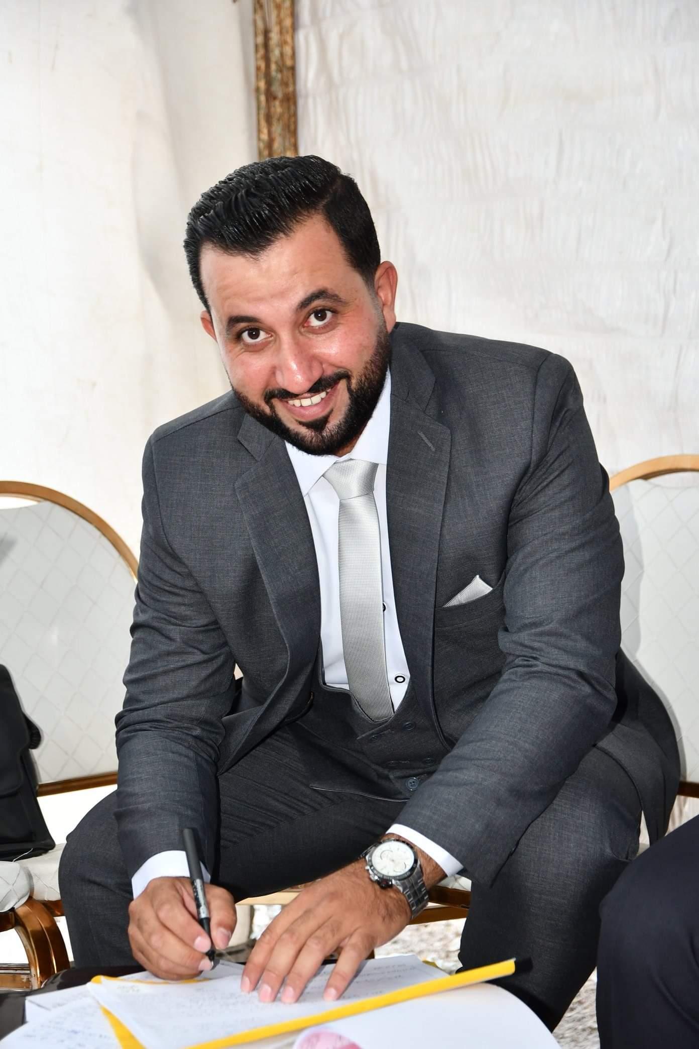 معتز عربيات ..  مبارك عقد القران