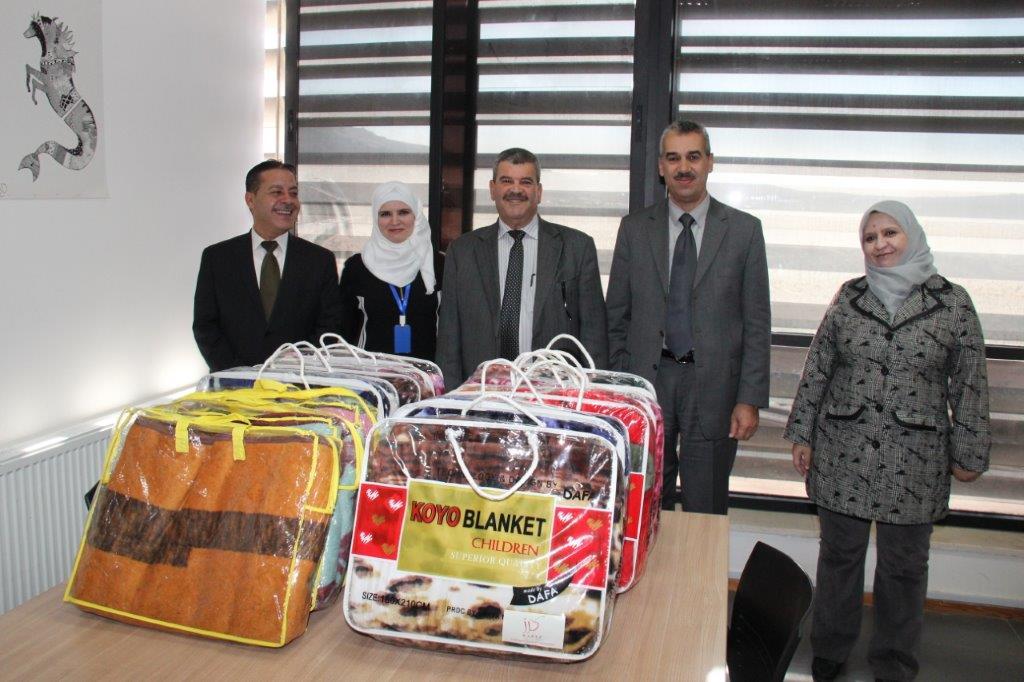 حملة مبادرة دفا في عمان العربية 