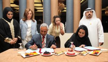 الفايز والقاسمي يشهران المجلس الاستثماري الإماراتي الأردني