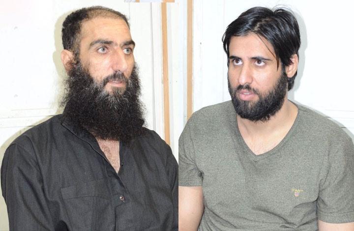 على يمين الصورة عصام الزوبعي وعلى اليسار صدام الجمل- القضاء العراقي