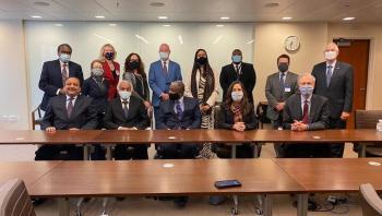 توقيع اتفاق تسوية القضايا المرفوعة ضد السودان في أمريكا