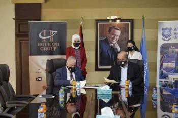 عمان الأهلية توقع 3 اتفاقيات تشغيلية استثمارية