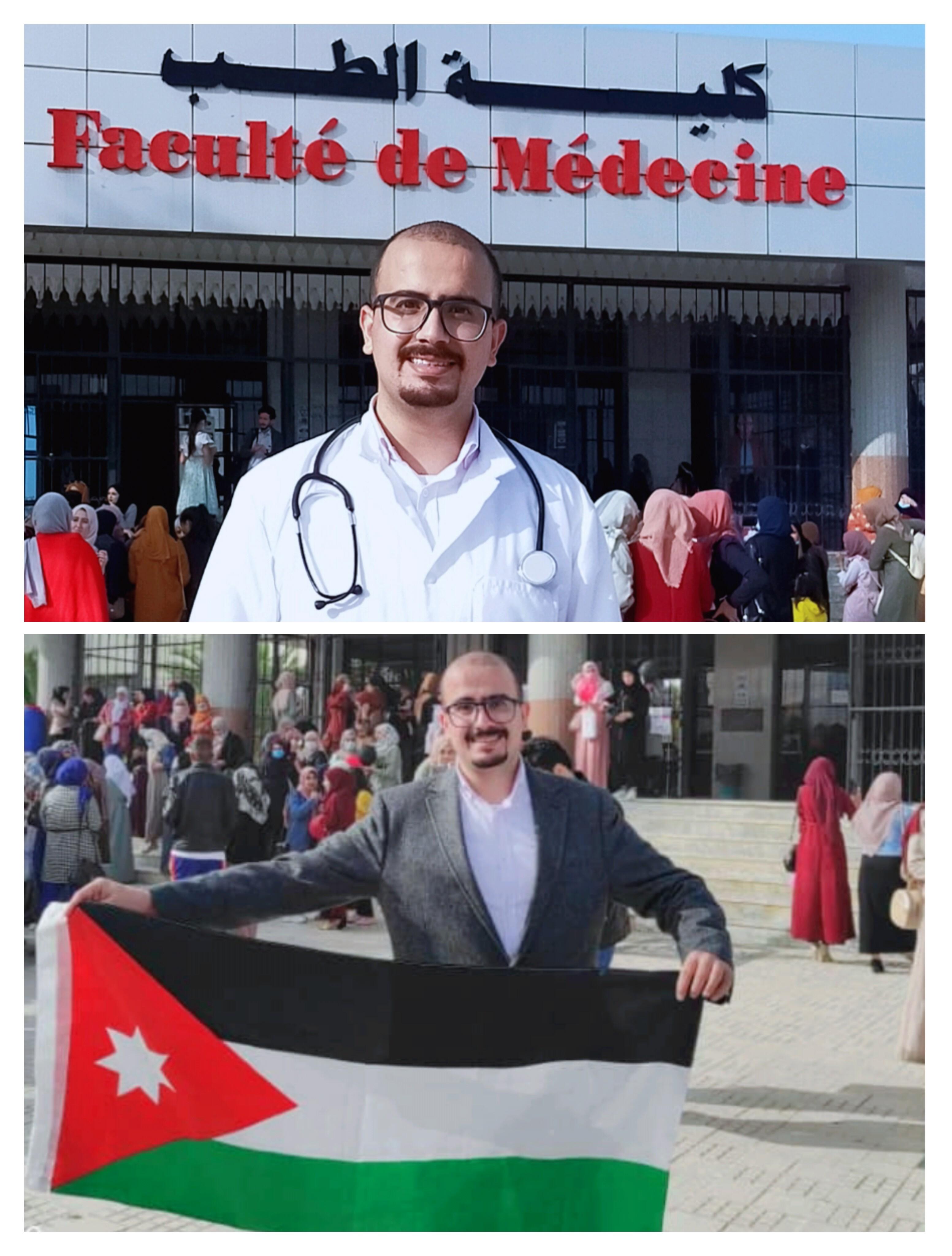 الدكتور ثابت عدنان الدروبي  .. مبارك التخرج