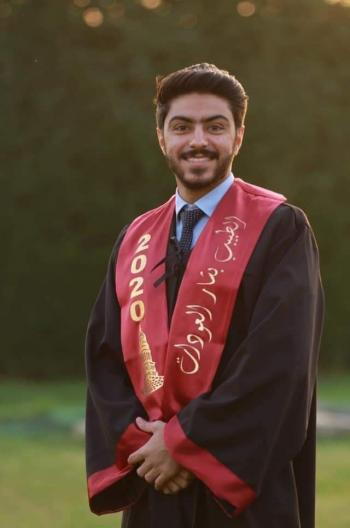 الدكتور بشار موسى العودات  .. مبارك التخرج