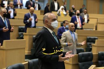 مجلس النواب يقرأ الفاتحة على ارواح شهداء فلسطين (صور)