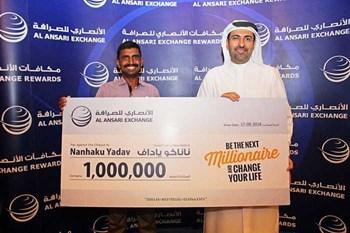 عامل بناء يتحول إلى مليونير في دبي