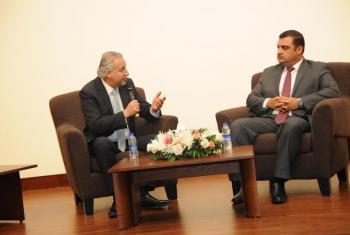 وزير الشباب يحاضر حول الإنتخابات البلدية واللامركزية