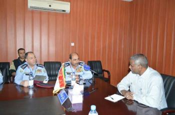 العميد المعايطة يتفقد الشرطة وقوات الدرك في دارفور