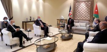 الملك يؤكد موقف الأردن الثابت تجاه القضية الفلسطينية