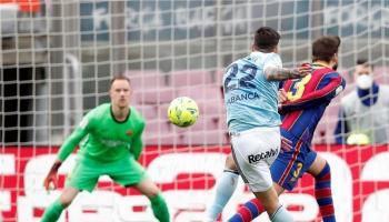 سيلتا فيجو يُقصي برشلونة من سباق الدوري الاسباني